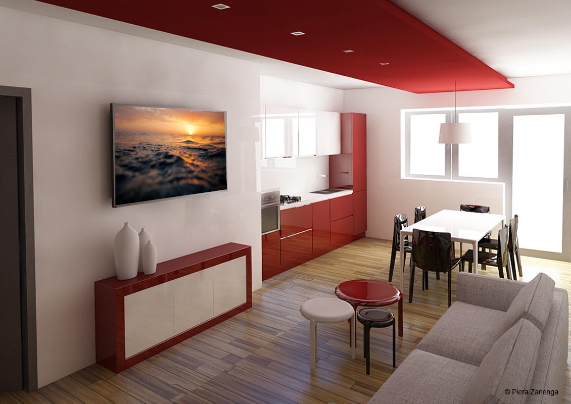 klp216 Appartamento in progettazione