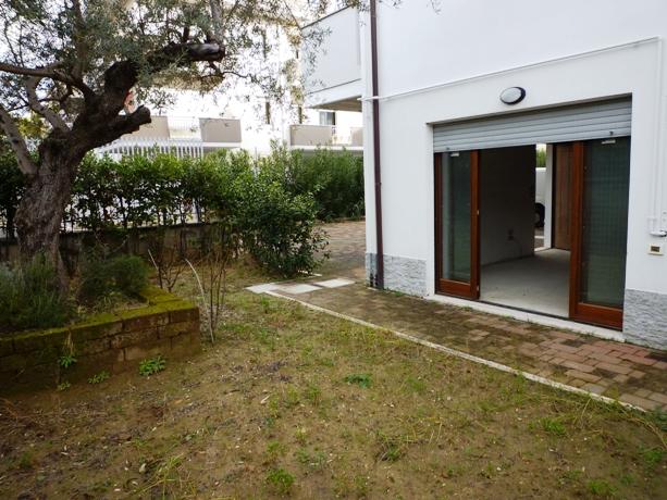 klp237 appartamento con giardino privato